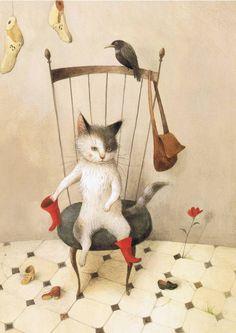 Il gatto con gli stivali – l'arte di Ayano Imai | Al peggio non c'è mai fine