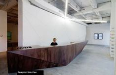 Leave It At The Reception Desk: Receptionist-In-Residence
