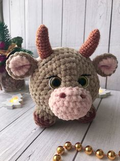 It is a sharing place where you can find knitting patterns and examples.Amigurumi, All types of amigurumi models and more can be found on our website. Crochet Animal Patterns, Knitting Patterns, Amigurumi Doll Pattern, Cow Pattern, Knitted Animals, How To Start Knitting, Crochet Diagram, Stuffed Toys Patterns, Handmade Toys