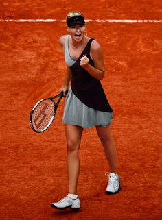 Maria Sharapova's 2010 French Open outfit from Nike. Love it or hate it? Im Loving It Tennis Wear, Nike Tennis, Tennis Dress, Tennis Clothes, Tennis Fashion, Sport Fashion, Fashion Top, Casual Chic, Sporty Chic