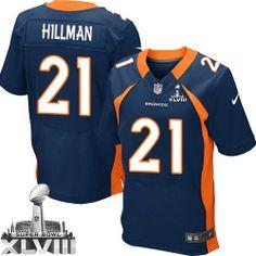 Ronnie Hillman Elite Jersey-80%OFF Nike Ronnie Hillman Elite Jersey at Broncos Shop. (Elite Nike Men's Ronnie Hillman Navy Blue Super Bowl XLVIII Jersey) Denver Broncos Alternate #21 NFL Easy Returns.