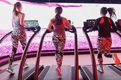 These Classes Make Running On The Treadmill Fun Running On Treadmill, Running Workouts, Running Magazine, Arms And Abs, Buddy Workouts, Spin Class, Functional Training, Training Plan, Running Women