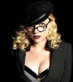 """Scarlett Johansson en """"The Spirit"""", 2008"""