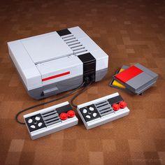Chris McVeigh's Customized Retro Technology LEGO Kits