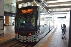 繁華街に新線を作った路面電車・富山地方鉄道富山市内軌道線に乗ってきた - GIGAZINE