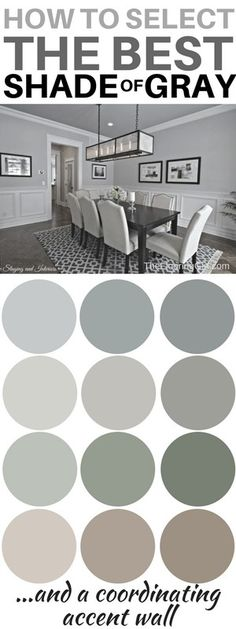 are the most popular shades of gray paint How to choose the best shade of gray paint and a coordinating accent wall. Most popular shades of gray. How to choose the best shade of gray paint and a coordinating accent wall. Most popular shades of gray. Valspar Paint Colors, Bedroom Paint Colors, Paint Colors For Home, Living Room Colors, House Colors, Interior Paint Colors, Interior Design, Popular Paint Colors, Shades Of Grey Paint
