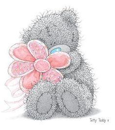 ʕ •́؈•̀ ₎♥                                                    Tatty Teddy Bear