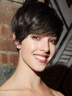 Olivia Thirlby's Short Cut Is Giving Us Ideas: Daily Beauty Reporter : Whoa, is that Olivia Thirlby? The actress, who had shaggier hair in Juno and The Wackness, looks so sophisticated with this pixie cut. The Being Flynn star looks exotic; older, in a glam way. And that her hair is longer...