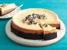 Ultra Creamy Black and White Cheesecake Recipe : Food Network Kitchens : Food Network - FoodNetwork.com