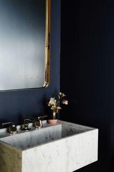 modern bathroom sink design by studio muir