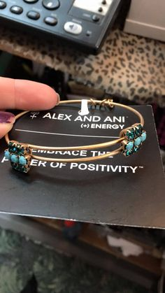 Alex and Ani Sparkler. Purchased 1/9/16