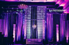 Magnificent Reception stage decor