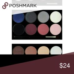 BE YOURSELF COSMETICS 8 Colors Eyeshadow Mystic This beautiful 8 colors eyeshadow palette comes with Swarovski crystals on the cover you will love it! It contains matte and shimmer colors.  Made in USA, animal cruelty free. FREE brush when you buy 1 piece. BE YOURSELF COSMETICS Makeup Eyeshadow