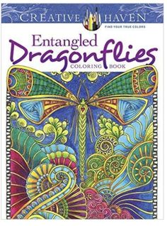 Thirty-one exuberant full-page illustrations to color feature dragonflies in imaginative renditions of natural settings. Inspired by Zentangle, a mode of repetitive patterns, the sweeping designs inco