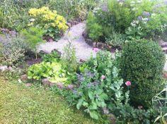 Ich habe alle meine Beete so angelegt: Steine als Begrenzung, Pferdemist auf die Grasnarbe und Erde darüber... Klappt bestens!!