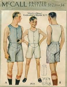men's 1930s underwear - Yahoo Image Search Results