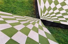 Discover Garden of Cosmic Speculation in Holywood, Scotland: A garden inspired by the principles of modern physics. Watercolor Landscape, Abstract Landscape, Landscape Architecture, Landscape Design, Garden Design, Creative Landscape, Landscape Paintings, Lush Garden, Home And Garden