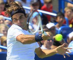 Federer forehand Cincinnati