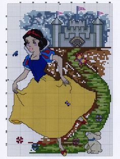 Snow White with Castle 2