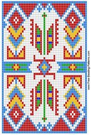 Free Printable Beadwork Patterns | Free Beaded Safety Pin Patterns – Free Crafts for Kids – Fun