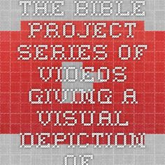 The Bible Project - series of videos giving a visual depiction of several books of the Bible