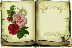 ***Köszönöm  szépen Scrapbook Journal, Scrapbook Pages, Color Bordo, Book And Frame, Diy And Crafts, Paper Crafts, Rose Frame, Borders And Frames, Writing Paper