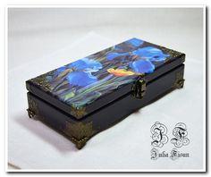 Cash box Jewelry box Wooden storage box Wood box Wood by BiJuly