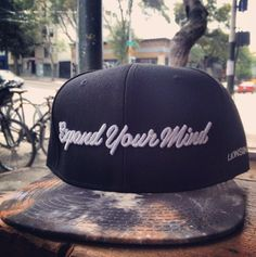 Black Expand Your Mind Snapback With Galaxy Bill Well-Made Crown Fits Great