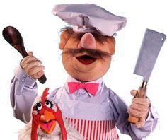 Zweedse kok uit The Muppets