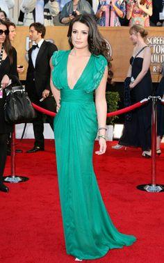 Lea Michele in Malandrino Screen Actors Guild Awards 2010