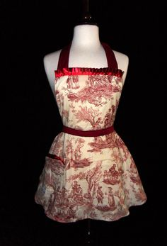 What a Lovely Day Marie Apron by domesticdoll on Etsy