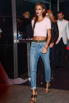 Joan Smalls masters the red carpet like only a top model can. See all her best looks on wmag.com.