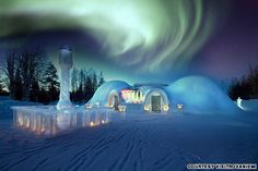 10 reasons to see Finnish Lapland | travel.cnn.com   Watch the Northern Lights from an igloo.  Talk about cozy.