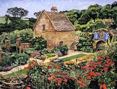 Country Stone Manor House David Lloyd Glover