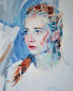 "Saatchi Art Artist Liam Marc O'Connor; Painting, ""Hannah"" #art"