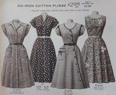 1950s house dresses