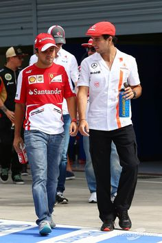 How can we both be getting dumped for Raikkonen, I mean can the guy drive two cars at once? Just shut up you twit!