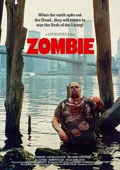 Hands down my favorite Zombie film of all time. Horror Icons, Horror Movie Posters, Horror Films, Horror Art, Zombie Movies, Scary Movies, Halloween Movies, Movie Z, Zombie Art