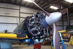 零式艦上戦闘機 - CAFで管理されている二二型のレプリカ(尾翼番号X-133) Imperial Japanese Navy, Aircraft Engine, Model Airplanes, World War Two, Scale Models, Military Vehicles, Wwii, Air Force, Engineering
