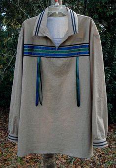 Creekfire - Muskogee Men's Ribbon Shirt -Size X-Large - Muskogee ...