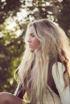 Messy hair <3