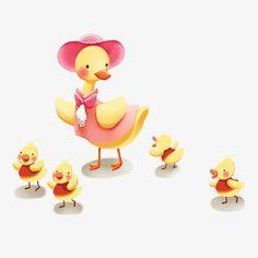 Dibujo de dibujos animados de pato, Pato, Cartoon Pato, Pato Acuarela Imagen PNG