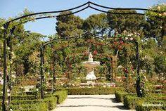 parque del oeste MADRID Rosaleda