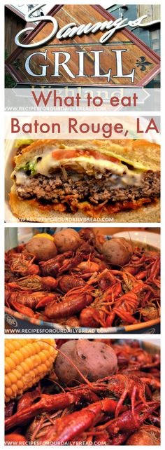 What to eat in Baton Rouge, LA? Sammy's Grill http://recipesforourdailybread.com/2014/06/26/sammys-grill-review-baton-rouge-la/ #restaurant review #baton rouge LA #Cajun food