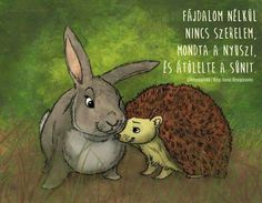 A hedgehog and a rabbit. *** This was part of a birthday gift to someone very special to me! Brushes used: [link] All comments welcome! Hedgehog and Rabbit Funny Quotes, Life Quotes, Pooh Bear, Positive Life, Animals And Pets, Rabbit, Bunny, Humor, Cute
