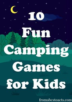 Camping with kids can be a lot of fun! But, if you've ever taken your little ones out into those wide open spaces, you also know that it can be a lot of w