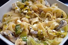 Greek salad a great food combining meal for the hay diet hay diet this leek and mushroom tagliatelle dish is one you will be wanting again a bit of garlic bread wouldnt do any harm forumfinder Gallery