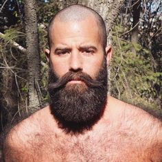 You sir. Look awesome! Shaved Head With Beard, Bald With Beard, Bald Man, Beard Love, Badass Beard, Epic Beard, Great Beards, Awesome Beards, Beard Styles For Men