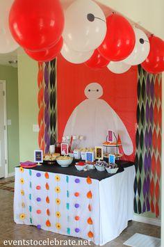 Big Hero 6 Birthday Party - eventstocelebrate.net #BigHero6Release #ad