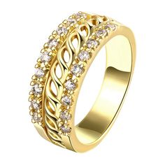 Fine or Fashion: Fashion Item Type: Rings Rings Type: Wedding Bands Style: Classic Brand Name: jewelora Gender: Women Setting Type: Prong Setting Material: Cubic Zirconia Occasion: Party Metals Type: